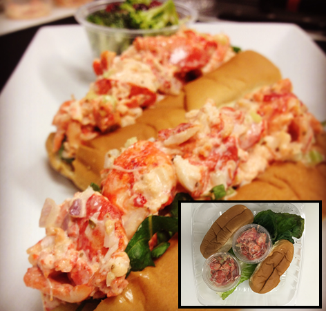 Grab n go Lobster Rolls