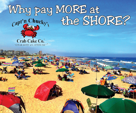 why pay more at the shore captn chuckys