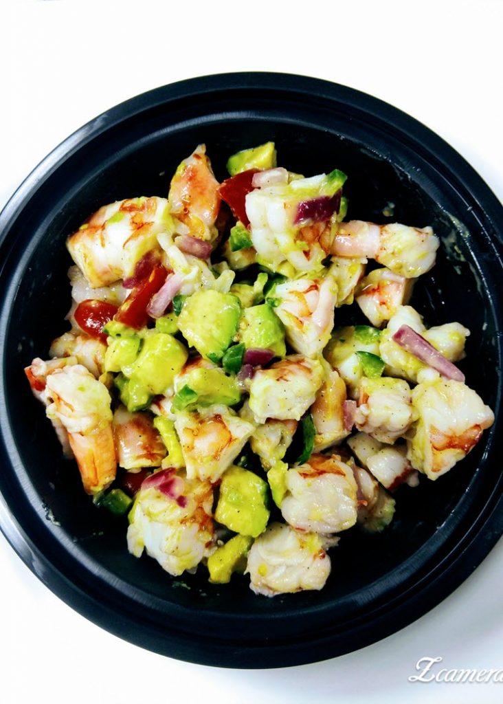 zesty lime and shrimp avocado salad sm